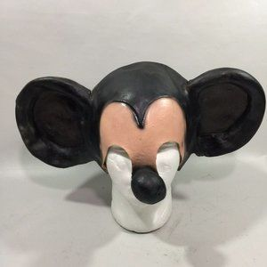Other - Vintage Creepy Mickey Mouse Halloween Adult Mask